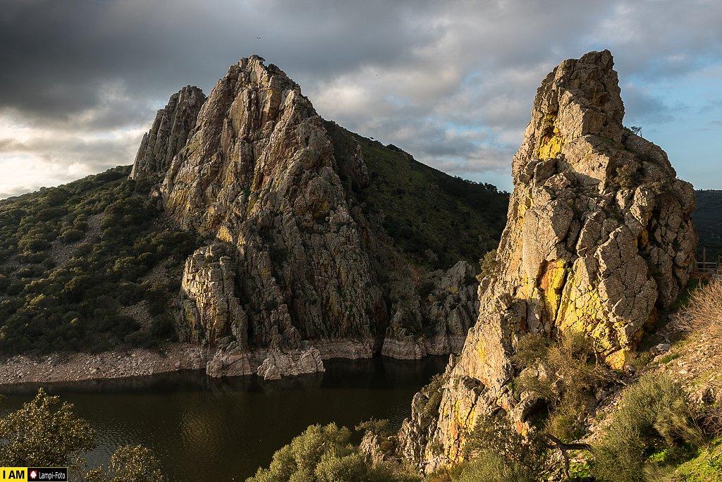 El salto del Gitano en Monfragüe (Cáceres)