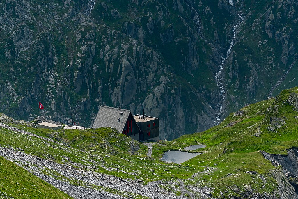 Scaletta Hütte SAC