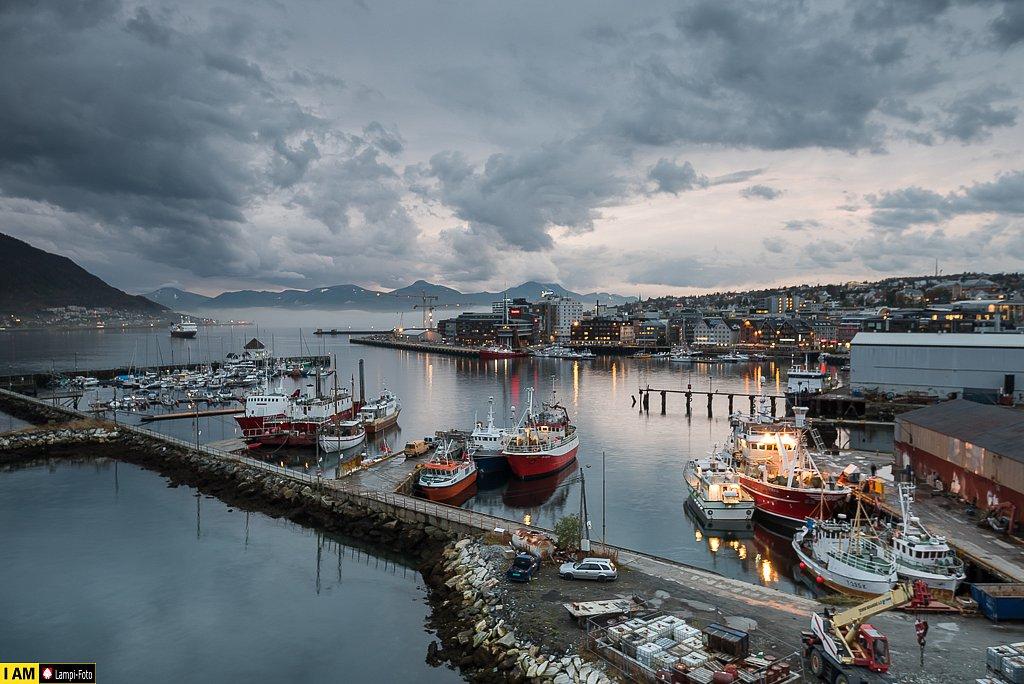 Hafen Tromsø, Norwegen