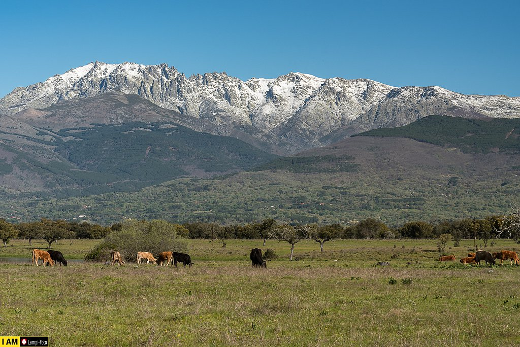 Bergkette Sierra de Gredos