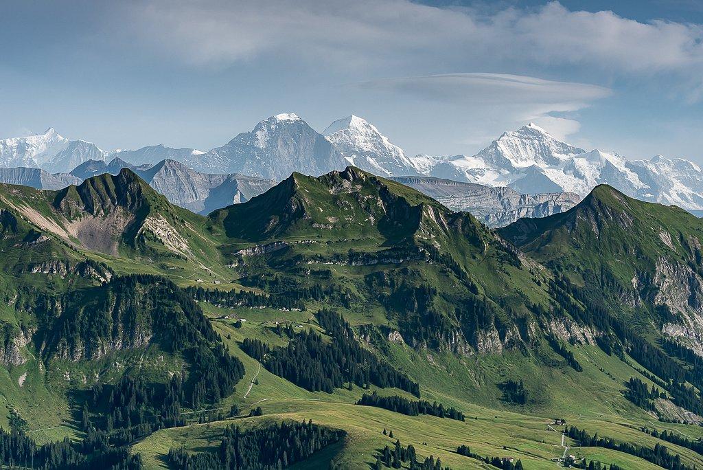 Dreigestirn Eiger, Mönch und Jungfrau