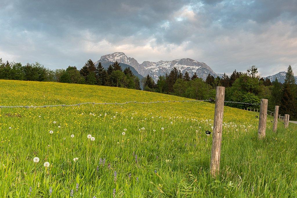 Aschau,  Hoher Gröll 2522 m und Hohes Brett 2340 m