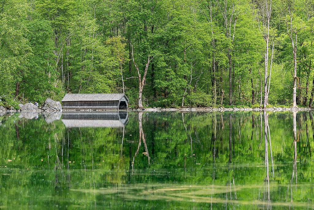 Obersee, Bootshaus