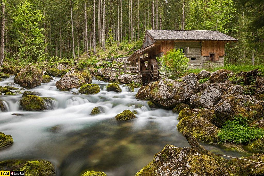 Golling, Mühle am Schwarzbachfall