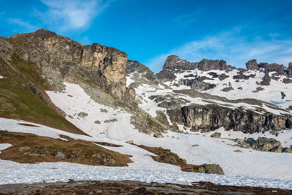 Unter Chärpf, Leglerhütte SAC 2273 m, Schwanden GL