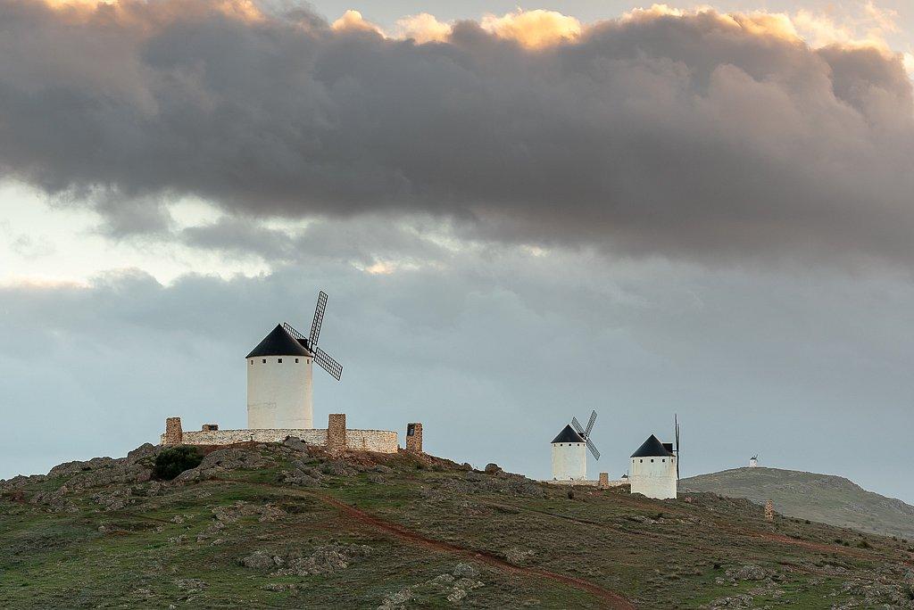 Herencia, Windmühlen