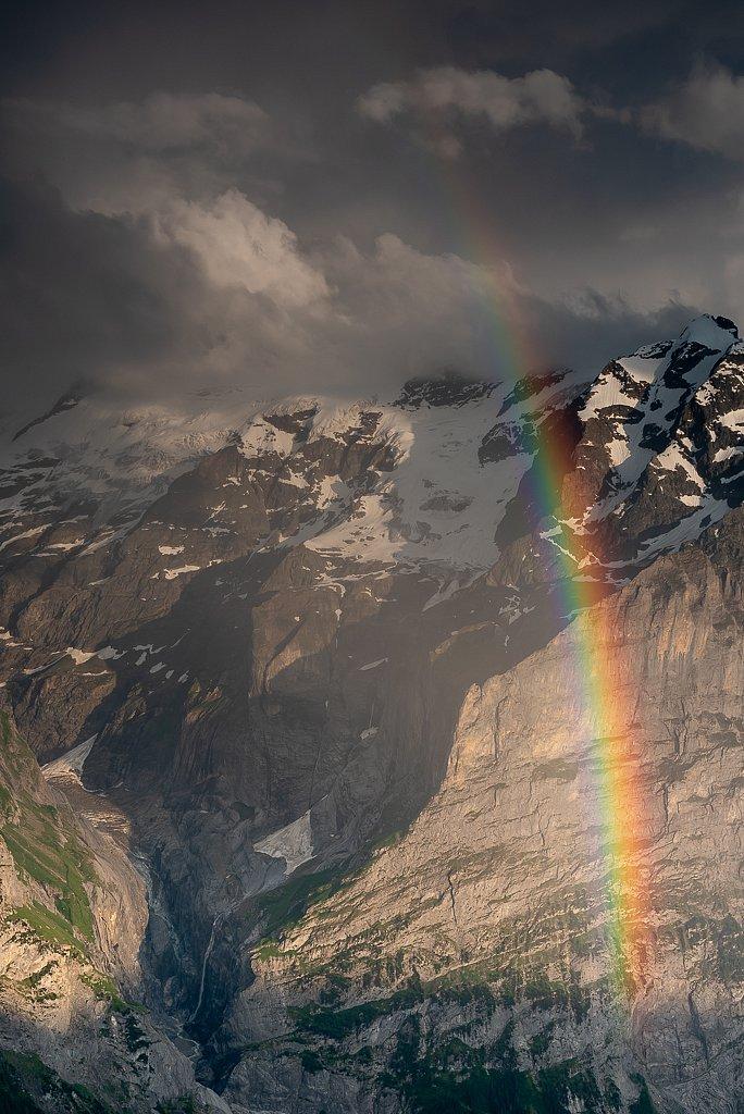 Grindelwald, Blick Richtung Oberer Grindelwald Gletscher